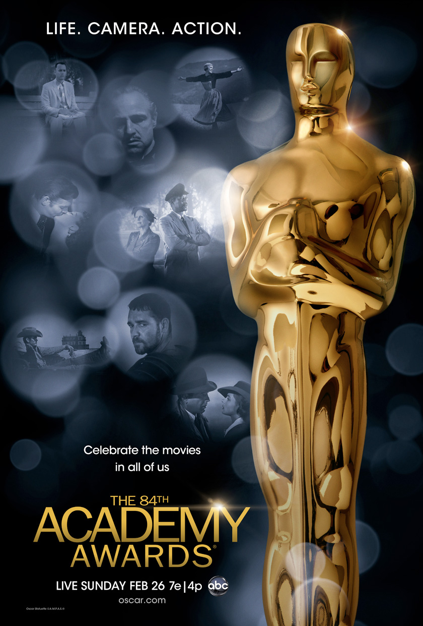 84thOscarsPoster 84th Oscars: Awards Show Wrap-Up